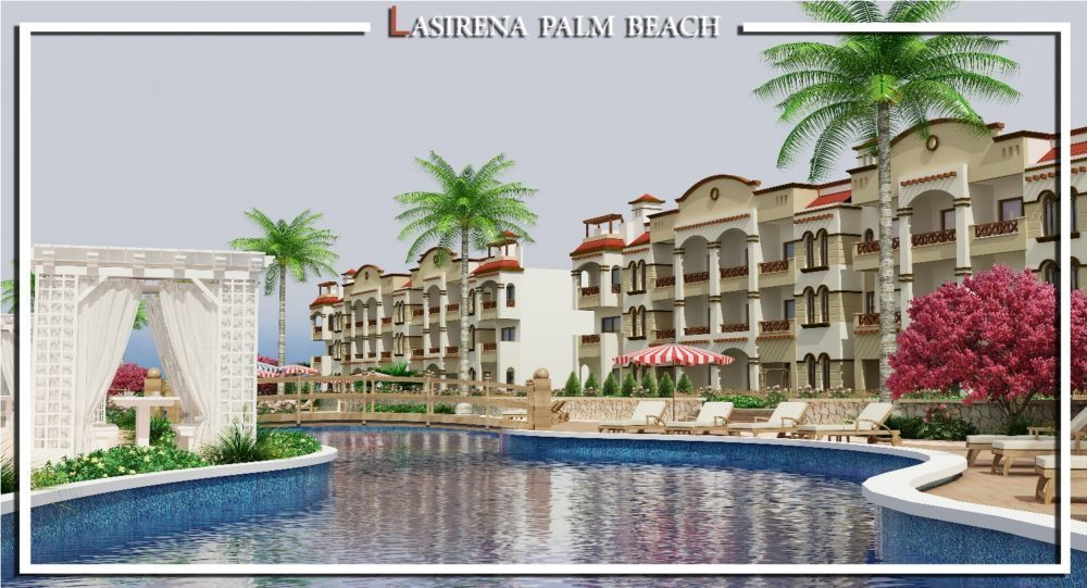 قرية لاسيرينا بالم بيتش العين السخنة lasirena palm beach