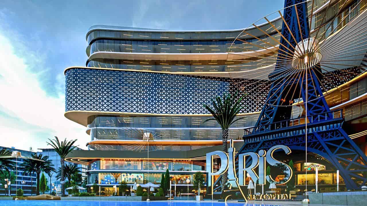 باريس إيست مول العاصمة الإدارية الجديدة عرض خاص من شركة بيراميدز  5% مقدم