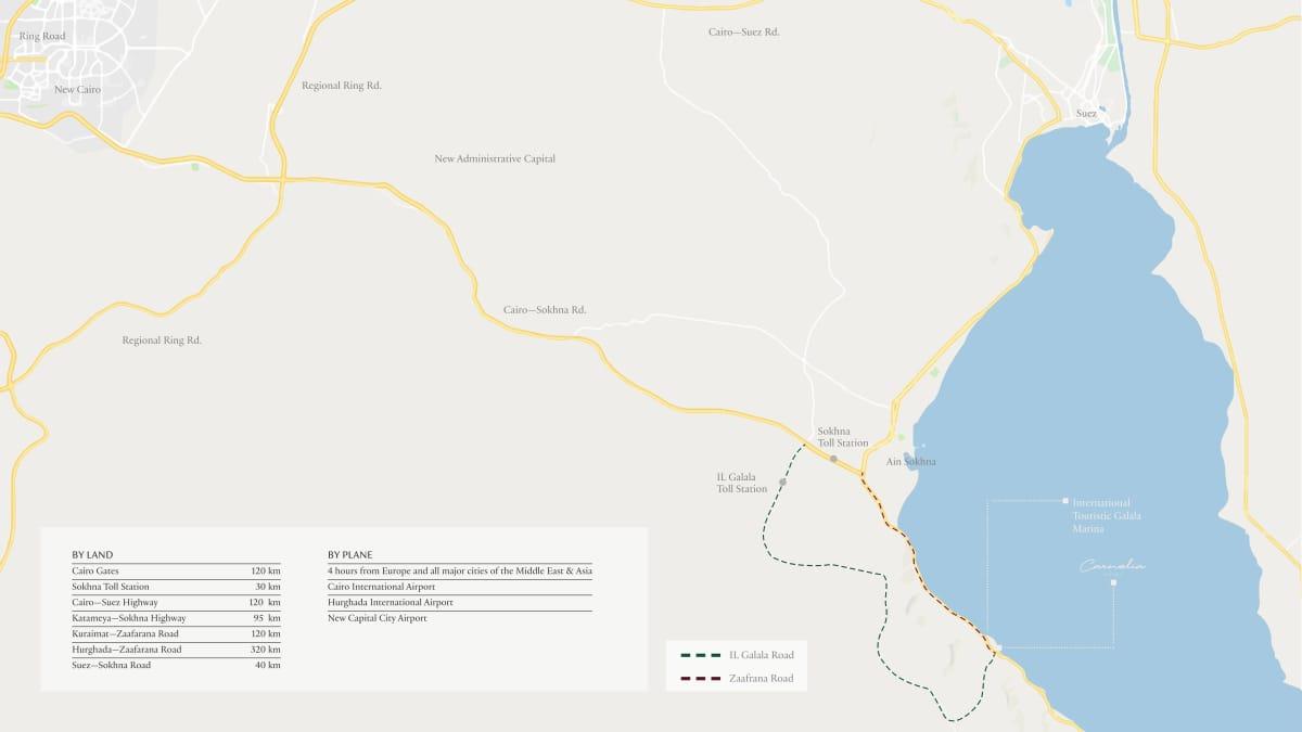 موقع كارنيليا