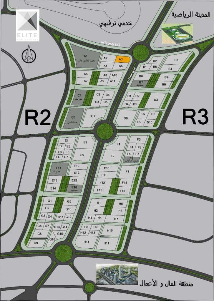 محلات للبيع في العاصمة الادارية الجدية2