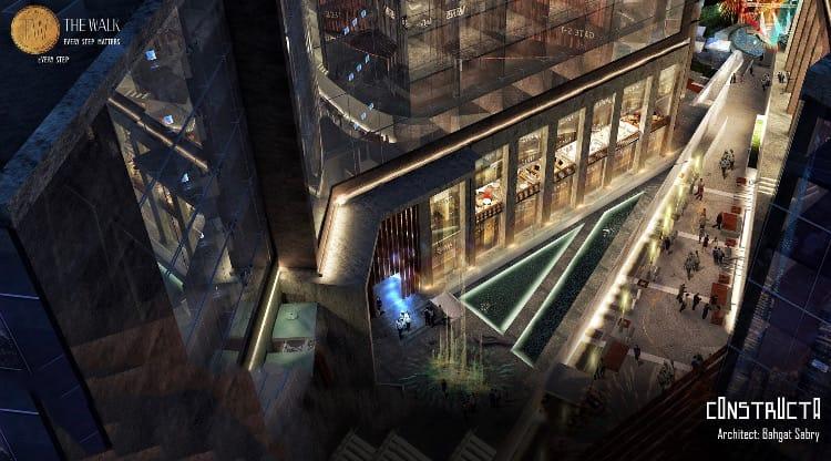موقع مول ذا ووك العاصمة الإدارية | The walk mall new capital