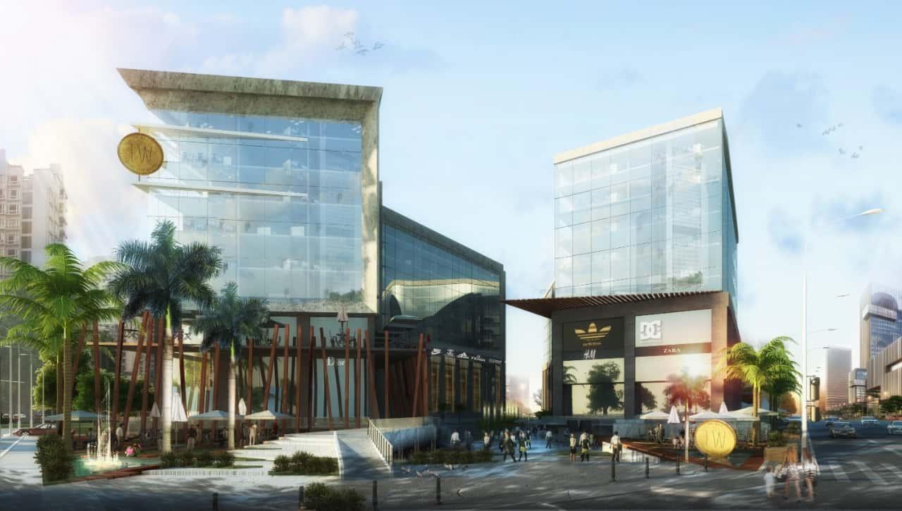 مساحة مول ذا ووك العاصمة الإدارية | The Walk Mall New Capital