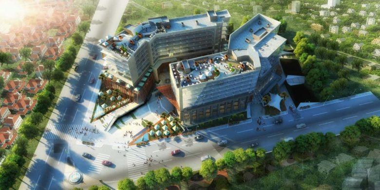 مساحة مول ذا ووك العاصمة الإدارية