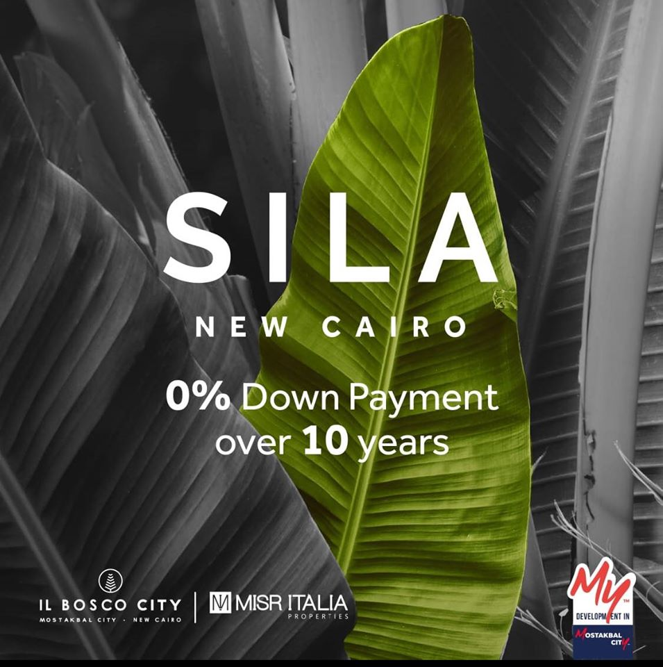 Sila Il Bosco City Misr Italia 0% down payment up to 10 years