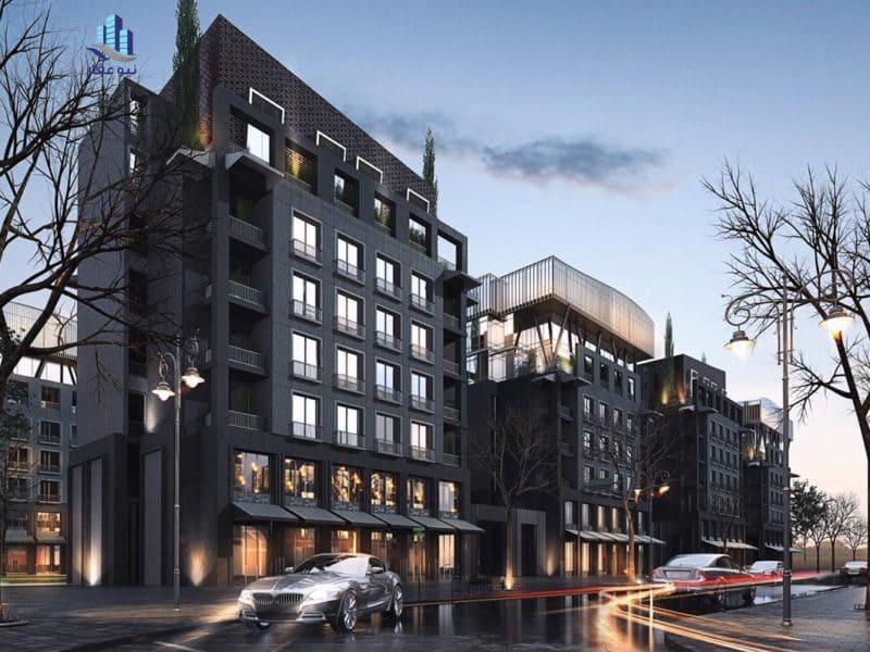 شقة بمساحة 140 متر بخصم 8% فى كمبوند بارك العاصمة الادارية