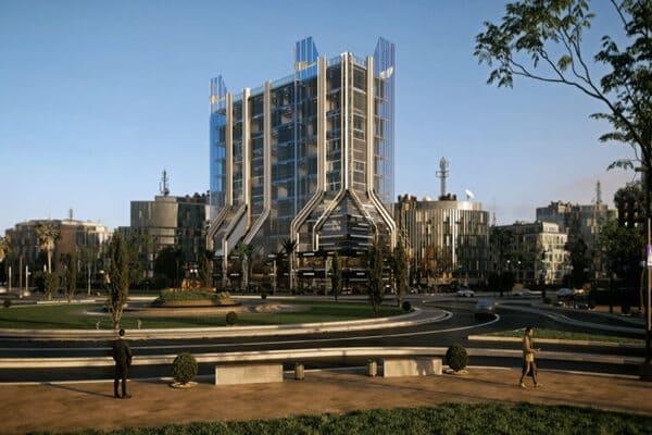 مشروع unitower 1 يوني تاور وان العاصمة الإدارية الجديدة