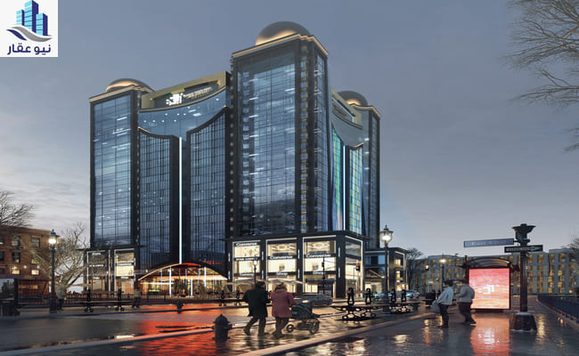 مول داون تاون العاصمة الادارية الجديدة Down town mall